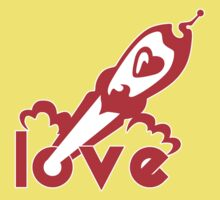 Love Rocket Kids Tee