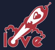 Love Rocket One Piece - Short Sleeve
