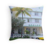 The Avalon Hotel Throw Pillow