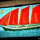Sailing ship by Thad Zajdowicz