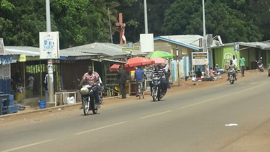 Street scene, Tamale, Ghana (2012) by Baba John Goodwin