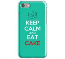Keep Calm Eat Cake iPhone Case/Skin