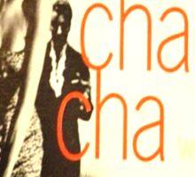 LET'S CHA CHA, 50'S LATIN CHEESECAKE ALBUM COVER Sticker
