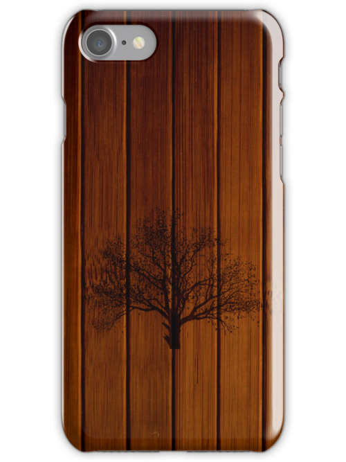 Wooden IPhone Case by TomMclean