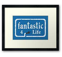 Fantastic 4 Life Framed Print