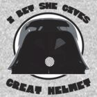 Great Helmet! by ABC Tee!