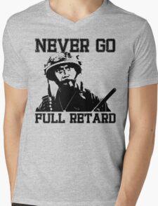 Never Go Full! Mens V-Neck T-Shirt