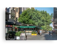 Rundle Mall - inside the mall Metal Print