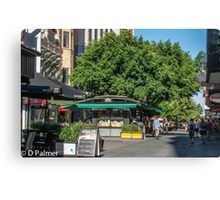 Rundle Mall - inside the mall Canvas Print