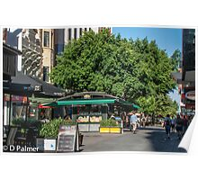 Rundle Mall - inside the mall Poster