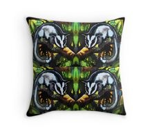 Four possums Throw Pillow