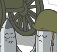 Cannon fodder. Sticker