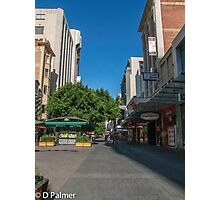 Rundle Mall - Tall buildings Photographic Print