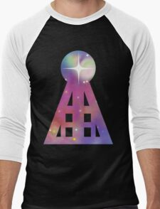 Triangular Nebula Men's Baseball ¾ T-Shirt