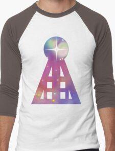 Triangular Nebula Men's Baseball ¾ T-Shirt