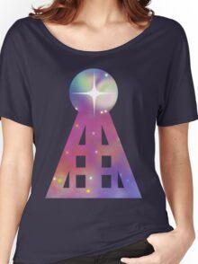 Triangular Nebula Women's Relaxed Fit T-Shirt