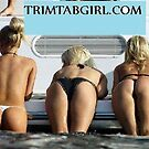 Nauticus Trim Tab Girls  by Girards