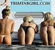 Nauticus Trim Tab Girls  by Girards