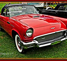 1956 Ford Thunderbird by BLAKSTEEL