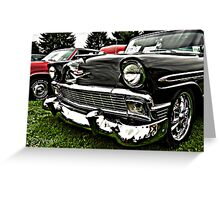1956 Chevy Belair Greeting Card