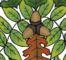 Oak Ash Thorn- Fairy Triad of Trees Sticker
