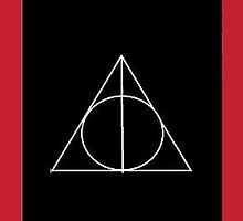 The Deathly Hallows (In Black) by PiranhaCakes