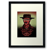 Van Creep Framed Print