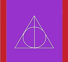 The Deathly Hallows (In Purple) by PiranhaCakes
