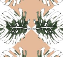 Monstera Abstract Sticker