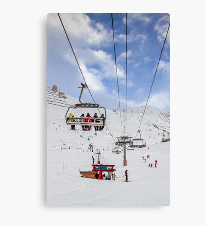 Ski Lift  Canvas Print