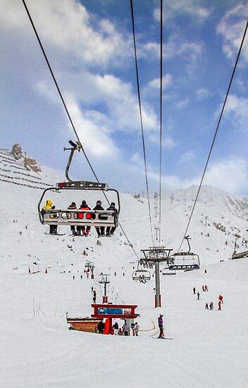 Ski Lift  by Patricia Jacobs DPAGB LRPS BPE4