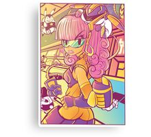 Roxy Canvas Print