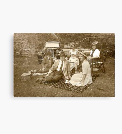 Vintage Picnic Canvas Print