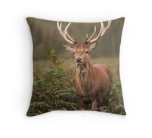 Majestic Red Stag Throw Pillow