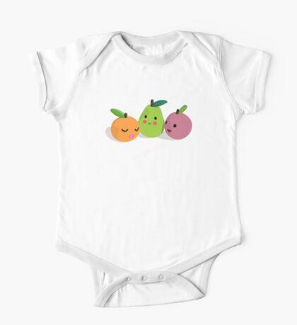 MIxed Fruit Shirt / Sticker One Piece - Short Sleeve