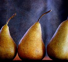 Playing with Pears by Clare Colins