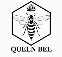 Amelia Bees Logo - Queen Bee (in black) Women's Fitted V-Neck T-Shirt