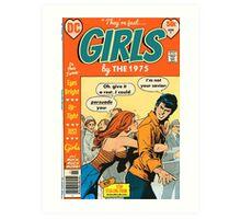 Girls by The 1975 Comic Art Print
