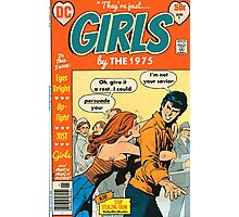 Girls by The 1975 Comic Art Photographic Print