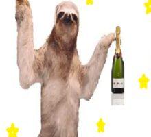 Go home Sloth, you're drunk Sticker