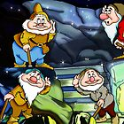 4 Dwarves by DarkKitty69