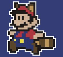 8 Bit Mario by thevillain