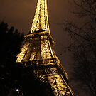 Eiffel Tower at Night by Sweetpea06