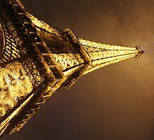 Eiffel Tower at Night taken 2013 by Sweetpea06