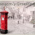 Seasons Greetings Postbox by ©The Creative  Minds