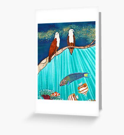Brahminy Watch Greeting Card