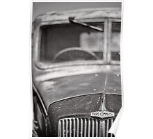 Vintage Morris Truck Poster