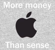 More money than sense by Dan McCormick