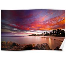 Cottesloe Sunrise Poster