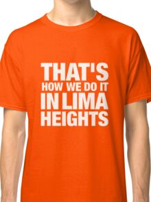 Lima Heights - White Classic T-Shirt